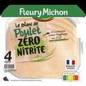 Fleury Michon Blanc Poulet Rôti Zéro Nitrite , 4 Tranches 120g