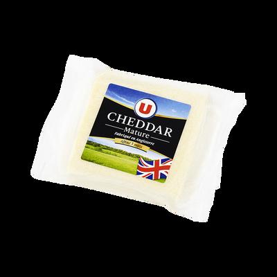 Cheddar mature pasteurisé U, 34,4% de MG, 200g