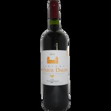 """Vin rouge AOP Blaye Côtes de Bordeaux """"Château la Fleur Dallon"""", 75cl"""