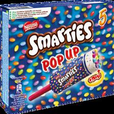 Glace smarties pop up NESTLE, x5, 260g