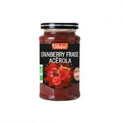 Confiture Bio Fraise Cranberry Acérola Vitabio 290g