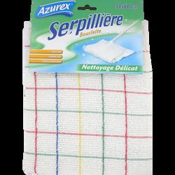 Serpillière boucle blanche simple AZUREX