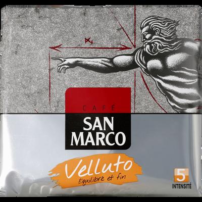 Café moulu Velluto SAN MARCO, 2 paquets de 250g soit 500g