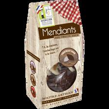 Mendiants chocolat noir JULES O FOURNEAUX, 160g
