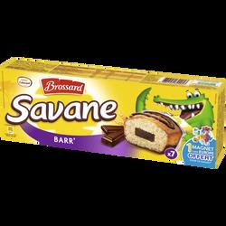 Savane pocket barr' chocolat BROSSARD, x7, 189g