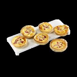 Mini quiche lorraine, BIGARD, 6 pièces, 300g