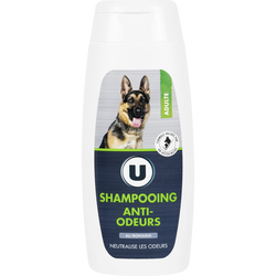 Shampooing anti odeurs pour chien, U, 200ml