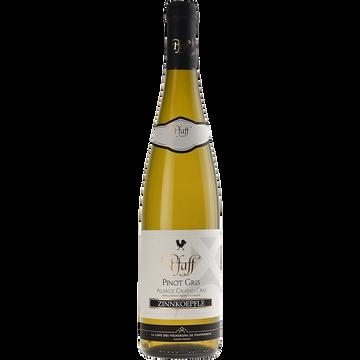 Pinot Gris Vin Blanc - Alsace Grand Cru - Aop - Pinot Gris Zinnkoepflé Pfaff 2014 - 75cl