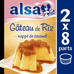 Préparation pour gâteau de riz ALSA, 2 doses, 370g