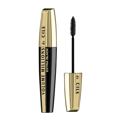 Extra L'oreal Cils Mascara Black Blister Volume De Millions rxBedoC