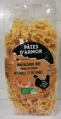 MAFALDINE SEMOULE DE BLE& CITRON PATES D'ARMOR