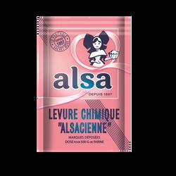 Levure chimique AlSA, sachet de 8 soit 88g