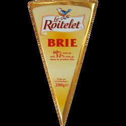 Pointe de Brie pasteurisé LE ROITELET, 32%MG, 200G