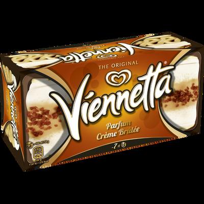 Dessert glacé crème brûlée VIENNETTA , 350g