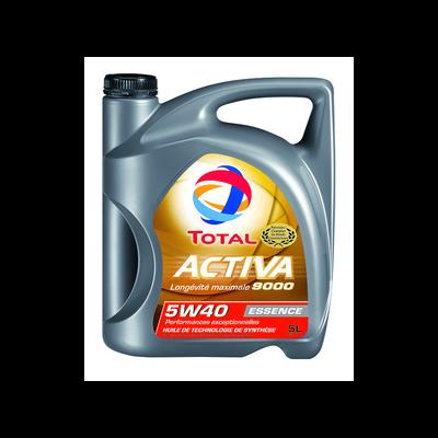 Huile 5W40 pour moteurs essence Activa 9000 TOTAL, 5l