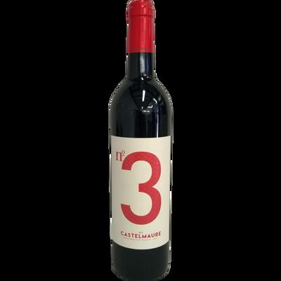 Vin rouge AOP Corbières Castelmaure Cuvée n°3, 75cl