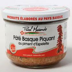 PATE BASQUE PIQUANT 180 GR