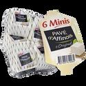 Pavé d'Affinois Fromage Pasteurisé Mini L'original 31% De Matière Grasse Pave D'affinois, , X6 Soit 180g