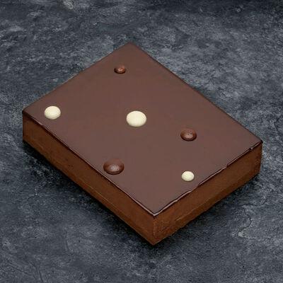 Croustillant chocolat décongelé, 2 pièces, 220g