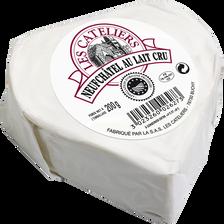 Coeur de Neufchatel AOP au lait cru LES CATELIERS, 25% de MG, 200g