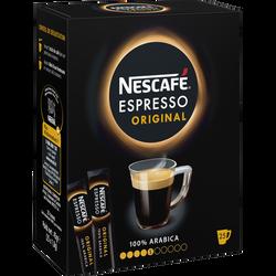 Café soluble espresso NESCAFE, 25 sticks, 45g