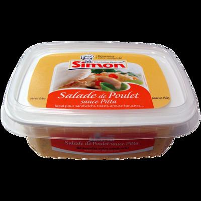 Tartinable de poulet pitta SIMON DUTRIAUX, 150g