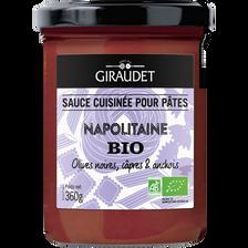 Sauce napolitaine bio GIRAUDET pot 360g