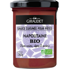 Sauce napolitaine bio, GIRAUDET, pot de 360g