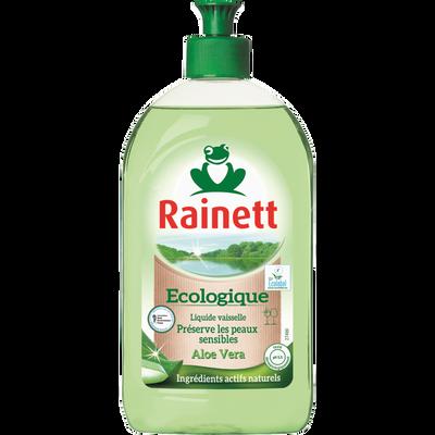 Liquide vaisselle main aloe vera RAINETT ecolabel,,  500ml