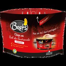 Chips nature lisse au sel de Guérande, BRET'S, sachet party pack de 165g