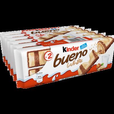 KINDER bueno white, x6 soit 234g