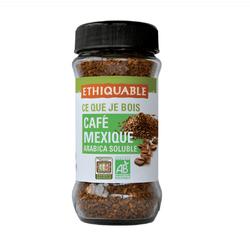 Café solluble Mexique BIO ETHIQUABLE 85g