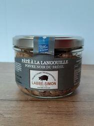 Paté de Langouille au poivre Noir du Brésil, Labbé Simon, 180g