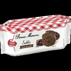 Sablés tout chocolat BONNE MAMAN, 150g