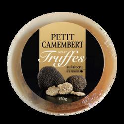 Kit camembert aux truffes, au lait cru, 22% Mat.Gr, 150g