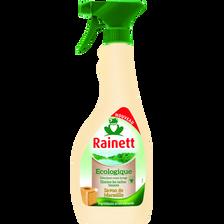Détachant avant lavage écologique savon de Marseille RAINETT, spray de500ml