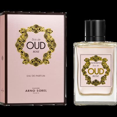 Eau de parfum bois de oud rose ARNO SOREL, vaporisateur de 100ml