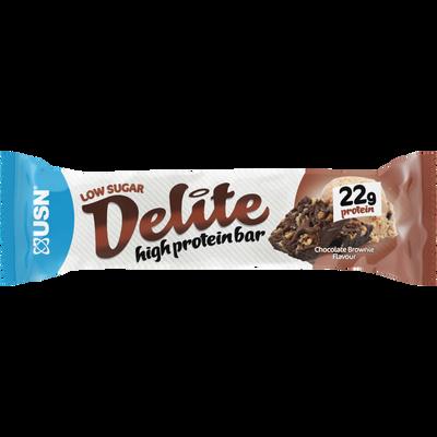 Barre protéinée chocolat brownies ULTIMATE SPORT NUTRITION, barre de 60g