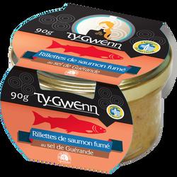 Rillettes de saumon fumé TY GWENN, 90g