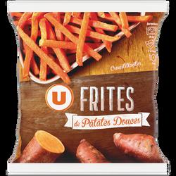 Frites de patates douces U, sachet de 600g