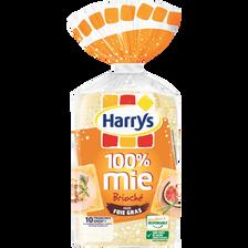 Harry's Pain De Mie 100% Mie Brioché Spécial Foie Gras , Paquet De 285g