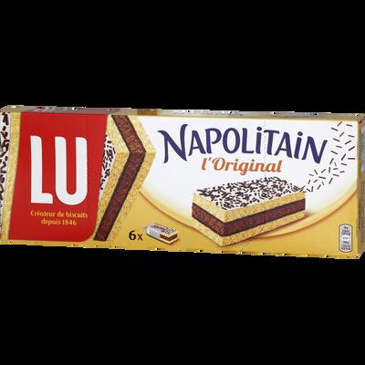 Napolitain individuel classic LU, paquets de 6 soit  180g
