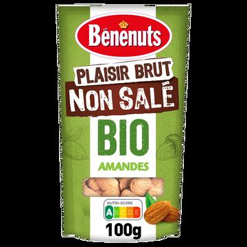 Bénénuts Amandes Bio Benenuts Plaisir Brut - 100g
