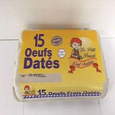 OEUFS DATES X15