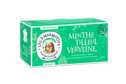MENTHE TILLEUL VERVEINE, 42G - LES 2 MARMOTTES