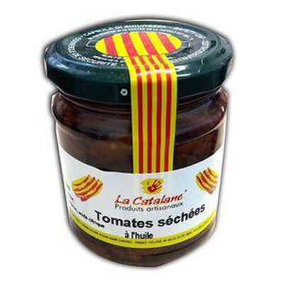 Tomates séchées à l'huile d'olive, pot de 190G - LA CATALANE