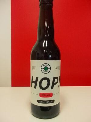 HOP ! RED ALE Bière Artisanale