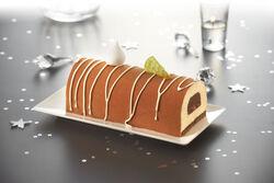 Bûche poire/chocolat, 8 parts, 840g