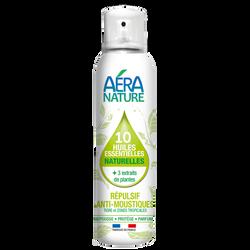 Répulsif anti-moustique aux 10 huiles ess.& 3 actif 100ml