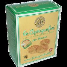 Apérigaufres pur beurre saveurs Maroille ciboulette, étui de 85g